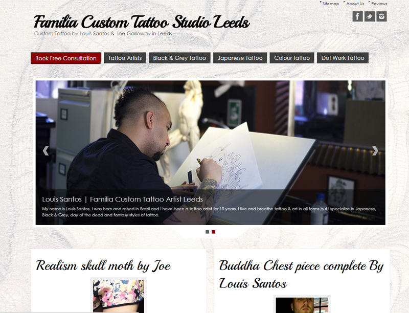 tattoo studio leeds